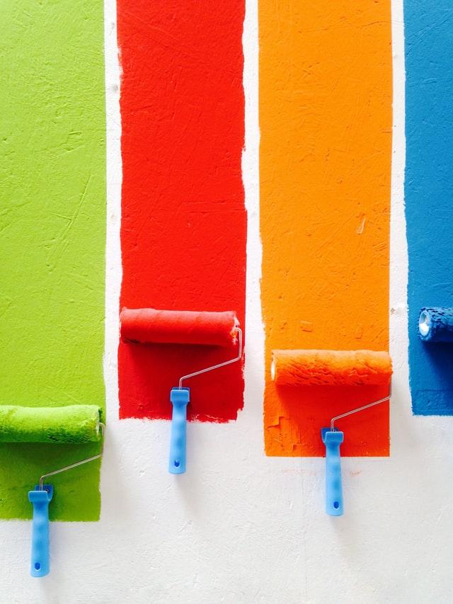 væg maling