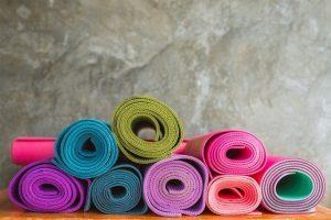 Yoga måtter